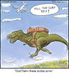 Cartoon: Rex (small) by noodles tagged rex,dinosaur,skydiving,airplane,noodles