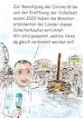 Cartoon: Beendigung der Korona Krise (small) by Stefan von Emmerich tagged corona,virus,crisis