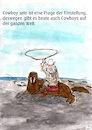 Cartoon: cowboys all over the world (small) by Stefan von Emmerich tagged cowboys,wahlross,arktis