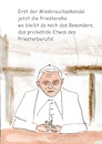 Cartoon: Der Priesterberuf (small) by Stefan von Emmerich tagged priester,missbrauchsskandal,benedikt,cartoon,zölibat