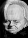 Cartoon: Anthony Hopkins (small) by Francesco tagged anthony,hopkins