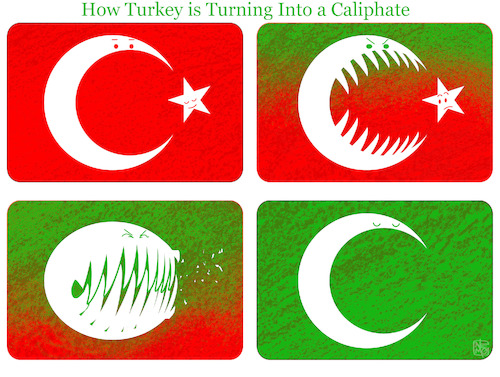 Turkey Turns into a Caliphate