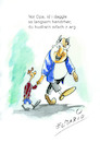 Cartoon: Hendrher daggla (small) by elmario55 tagged schwaben,alldag,dialekt