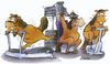 Cartoon: horse gym (small) by HSB-Cartoon tagged horse,animal,winter,climate,gym,gymnastic,fitness,muscle,treadmill,barbell,hantel,laufband,pferde,pferd,tier,cartoon,karikatur,airbrush