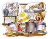 Cartoon: hot working (small) by HSB-Cartoon tagged work,working,office,businessfirm,trade,occupaion,employee,employer,weather,summer,summerday,hot,karikatur,caricature,arbet,arbeitsplatz,büro,wetter,sommerwetter,hitze,sommerhitz,angestellter,angestellte,kühlung,kühlschrank,computer
