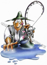 Cartoon: lets go fishing (small) by HSB-Cartoon tagged fish,fishing,angel,angeling,fishingsport,sport,water,fisher,sea,tackle,angeln,angelsport,fischen,fisch,rute,river,fluss,see,cartoon,caricature,airbrush
