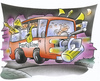 Cartoon: party bus (small) by HSB-Cartoon tagged party,feier,fete,bier,bus,verkehr,nachtbus,beer,musik