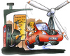 Cartoon: Spritpreise (small) by HSB-Cartoon tagged energie,windrad,tanken,tankstelle,sprit,spritpreis,benzinpreis,auto,verkehr,diesel,super,tankwart