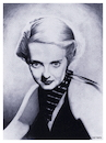 Cartoon: Bette Davis (small) by Cartoonfix tagged bette,davis,eyes,hollywood,schauspielerin