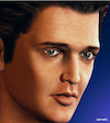 Cartoon: Elvis Presley (small) by Cartoonfix tagged elvis,presley,the,king