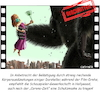 Cartoon: King Kong Cut Out Scene (small) by Cartoonfix tagged corona,virus,king,kong,hollywood,film