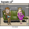 Cartoon: blind date (small) by Wadalupe tagged blind,date,cita,internet,facebook,messenger