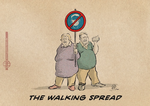 The walking spread