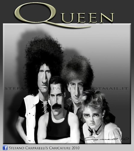 Cartoon: Queen (medium) by carparelli tagged caricature