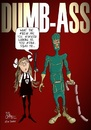 Cartoon: Dumb-ass the parody (small) by campbell tagged kick,ass,film,parody