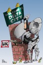 Cartoon: Robo-copper (small) by campbell tagged film