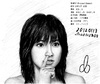 Cartoon: Morning Musume member (small) by Teruo Arima tagged japanese,japan,girl,female,chinko,manko,singer