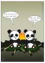 Cartoon: Bam Bus (small) by Olaf Biester tagged panda
