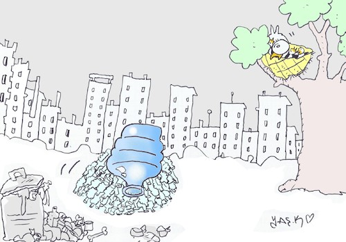 Cartoon: incubation (medium) by yasar kemal turan tagged incubation