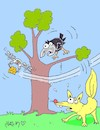 Cartoon: ambition (small) by yasar kemal turan tagged ambition