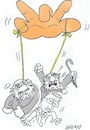 Cartoon: Attack on Kemal (small) by yasar kemal turan tagged attack,on,kemal