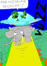 Cartoon: dangerous relationships (small) by yasar kemal turan tagged dangerous,relationships