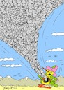 Cartoon: my home (small) by yasar kemal turan tagged my,home