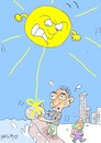 Cartoon: so hot (small) by yasar kemal turan tagged so,hot