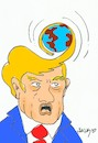 Cartoon: Trump... (small) by yasar kemal turan tagged trump