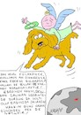Cartoon: Turkey rape death of her dog (small) by yasar kemal turan tagged turkey,rape,death,of,her,dog