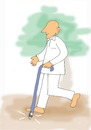 Cartoon: DisAbility (small) by karunakar tagged ability disability pwd visually challenged