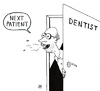 Cartoon: Next patient (small) by Jani The Rock tagged dentist,tooth,teeth,badbreath,yäk
