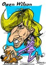 Cartoon: Owen Wilson (small) by Bartik tagged dessins,bartik,caricature,owen,wilson,acteur,americain,comique