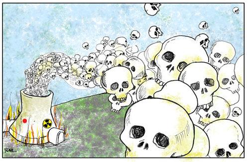 Power Plant Cartoon Nuclear Power Plant Cartoon