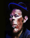 Cartoon: Tom Waits (small) by AudreyD tagged tom,waits,dugan,photoshop