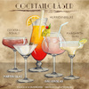 Cartoon: Cocktailgläser (small) by alesza tagged cocktail,glas,gläser,trinken,bar,martini,hurricane,margarita,ballon,cocktailschale,illustration,procreate