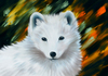 Cartoon: Polarfuchs (small) by alesza tagged polar,fox,fuchs,polarfuchs,polarfox,white,animal,digital,art,painting,illustration,unikatdesign
