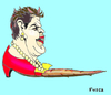Cartoon: Brazilian dictator Lula s puppet (small) by Fusca tagged brazil,dictatorship,rousseff,lula