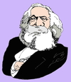 Cartoon: Karl Marx (small) by Fusca tagged marxism grouxo maxxx