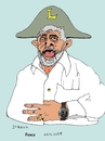 Cartoon: Lula Bonaparte (small) by Fusca tagged dictator,hegemonic,party,emperor