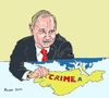 Cartoon: Putin confirms Crimea annexation (small) by Fusca tagged putin,soviet,annexation,kgb,national,socialism