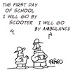 Cartoon: First day of School (small) by fragocomics tagged school,educational,education