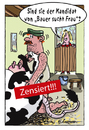 Cartoon: Der Kandidat (small) by rpeter tagged nackt,sex,bauer,stall,kuh,frau