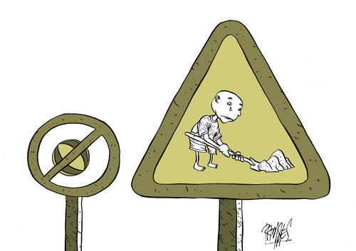 Cartoon: Child labor (medium) by Ramses tagged childhood,labor,exploitation