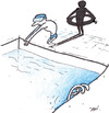 Cartoon: sport (small) by Monica Zanet tagged swimming,free,sport,zanet