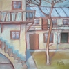 Cartoon: Outside (small) by boa tagged painting,color,oil,boa,romania,painter,landscape