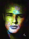 Cartoon: Marlon Brando (small) by Zoran Spasojevic tagged marlon,brando,marlonbrando,portrait,digital,man,paske,emailart,spasojevic,zoran,kragujevac,serbia,collage