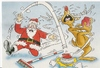 Cartoon: Santa (small) by fieldtoonz tagged santa,rudolph,christmas