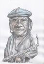 Cartoon: Lester Sterling (small) by Joen Yunus tagged carricature colored pencil lester sterling