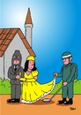 Cartoon: When Terrorist Get Married (small) by Joen Yunus tagged terrorism